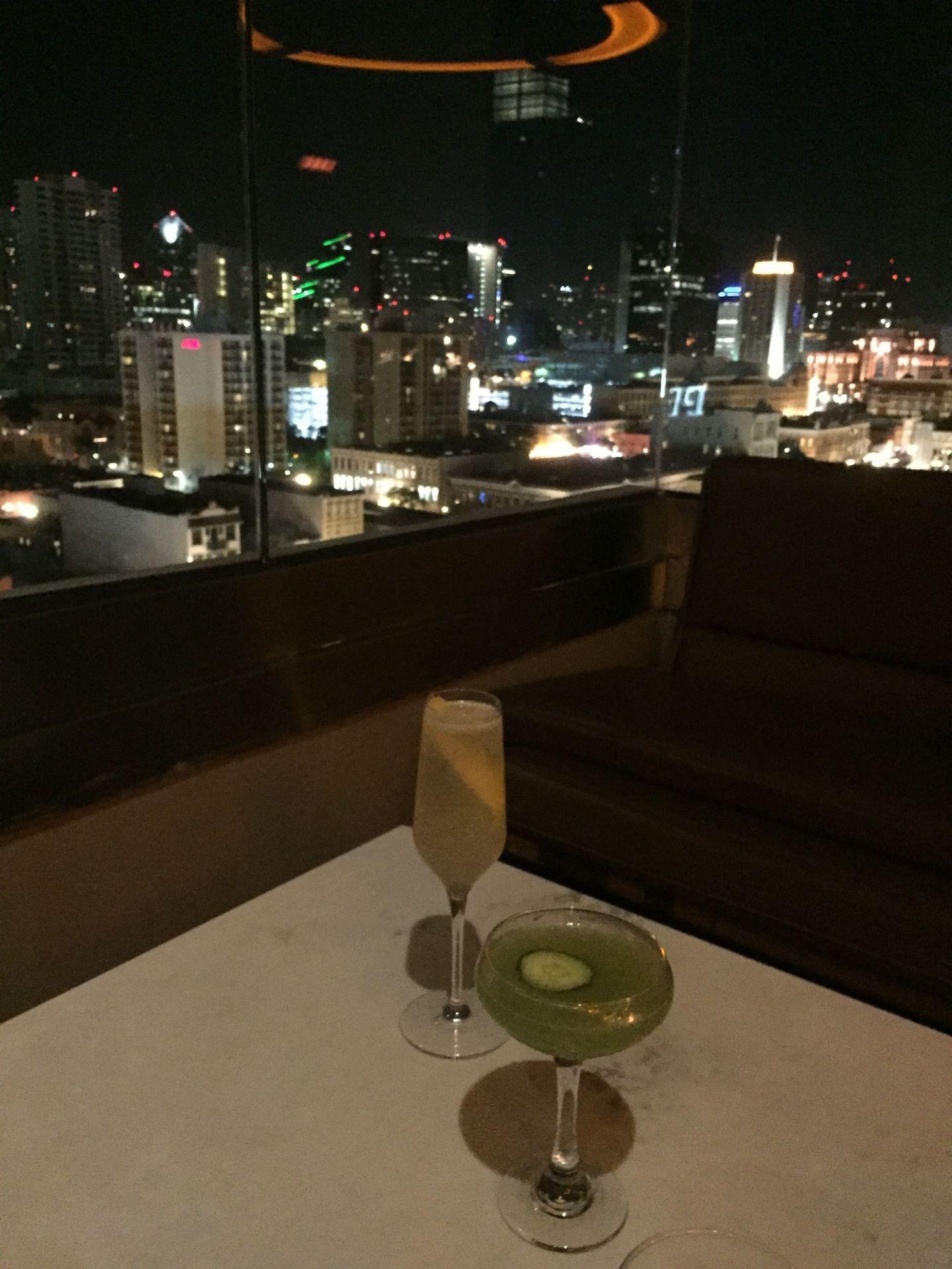 Cocktails at the Nolen, San Diego