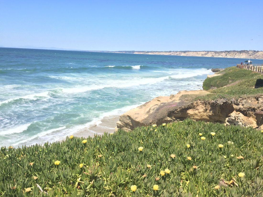 The views at La Jolla, San Diego