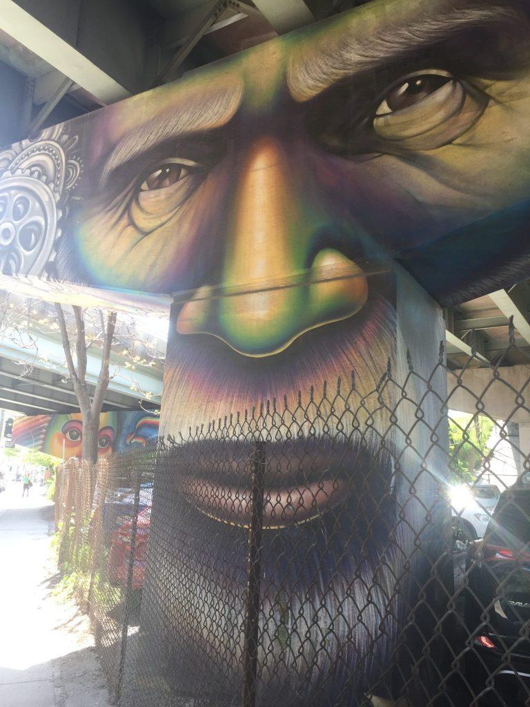 Street art in Toronto