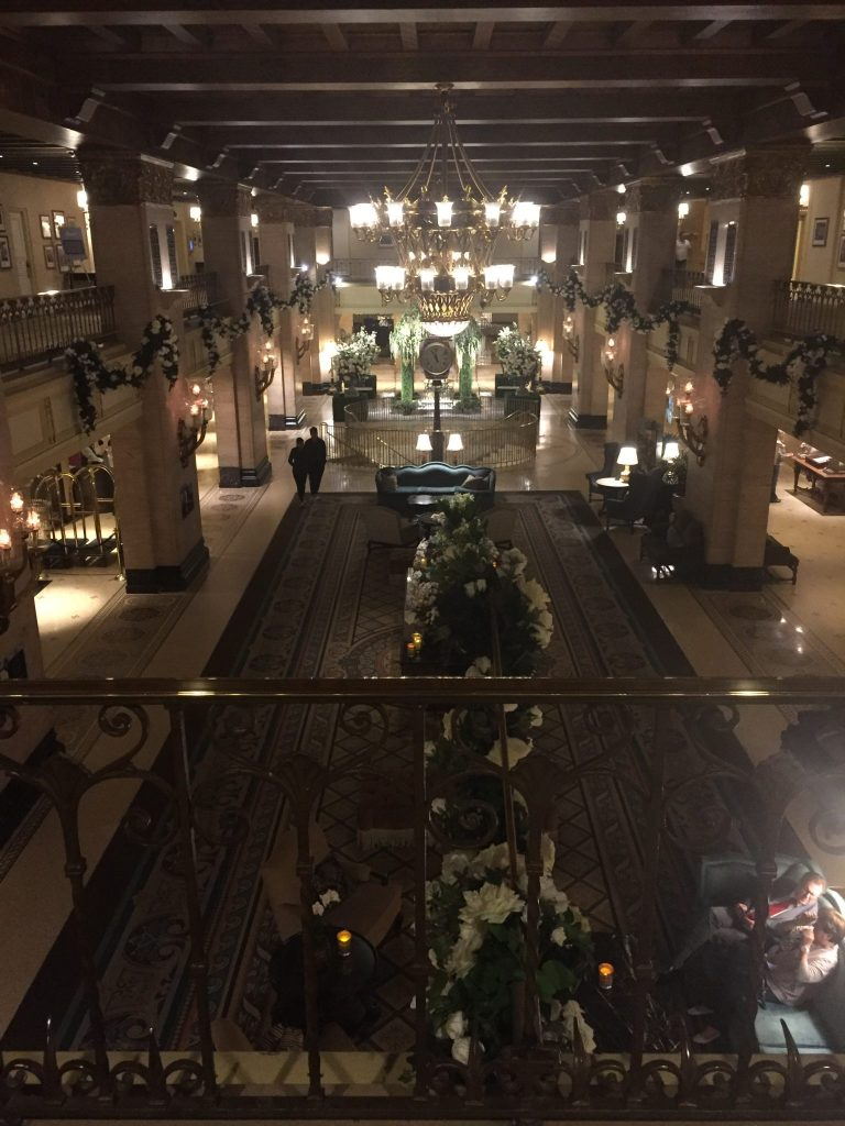 The interior of Fairmont Royal York, Toronto