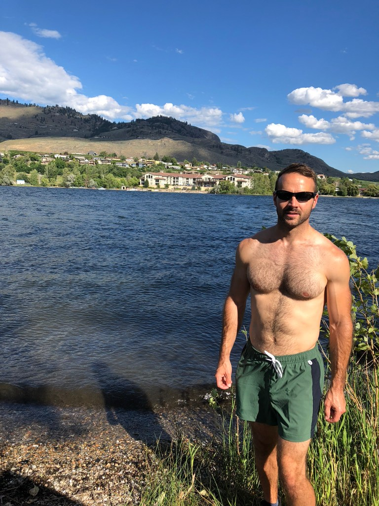 Swimming in Lake Osoyoos