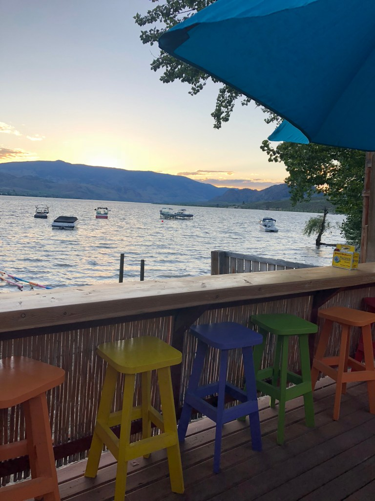 Views from Spirit Beach Cantina, Osoyoos