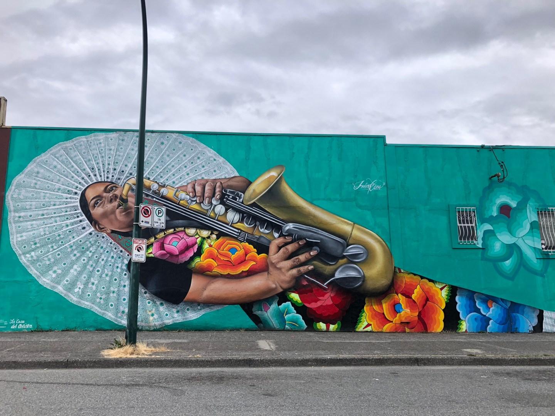 Vancouver street art in Mount Pleasant
