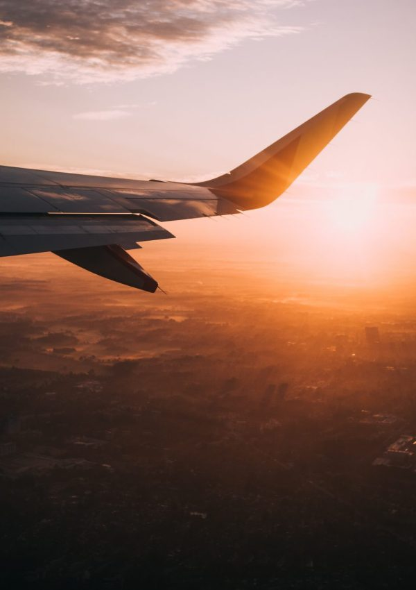 Travel wish list - view from plane window