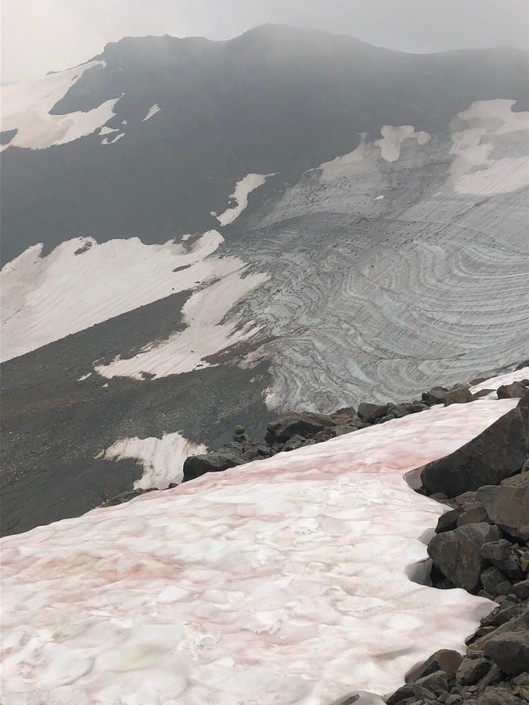 A glacier at Panorama Ridge, Garibaldi Provincial Park