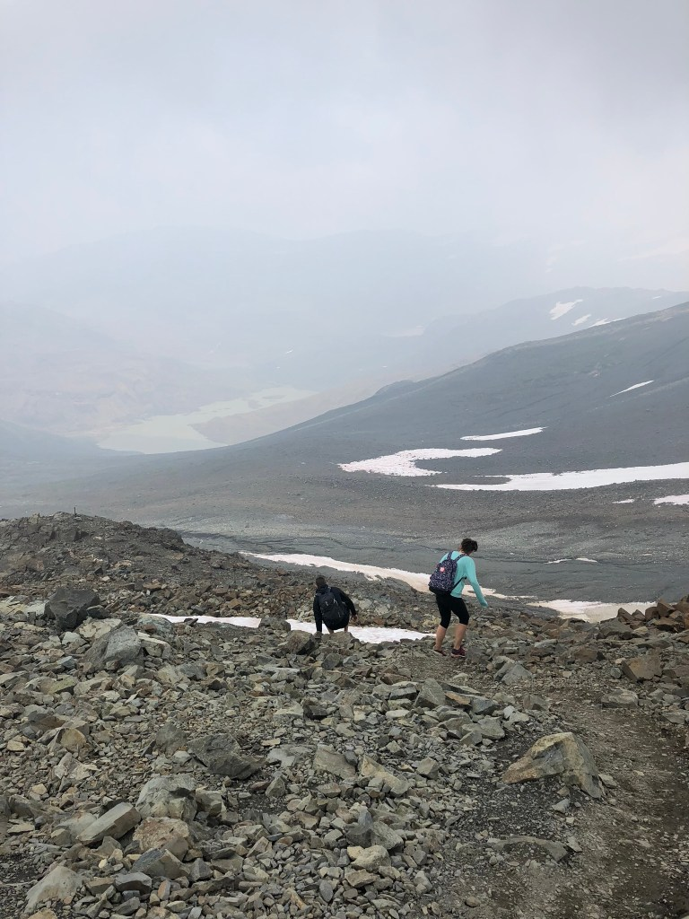 On the descent from Panorama Ridge
