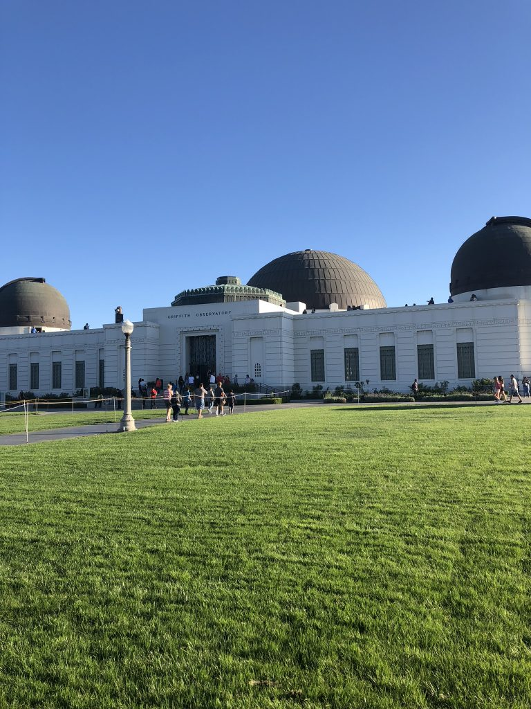 The Griffith Observatory, Hollywood
