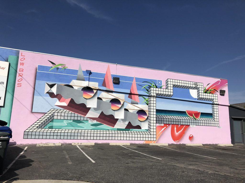 Street art on Abbot Kinney Boulevard, LA