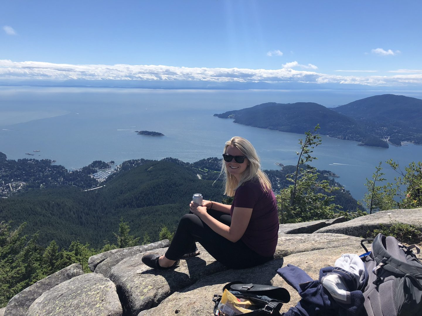 View from Eagle Bluffs, West Vancouver
