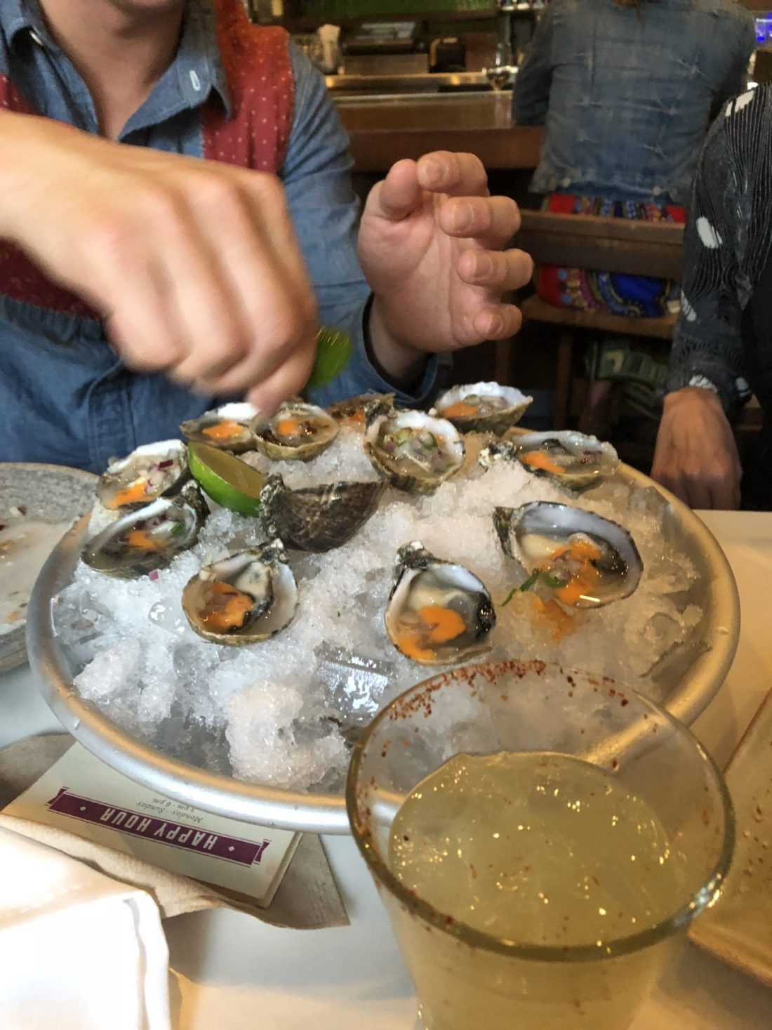Oysters from La Mar, San Francisco