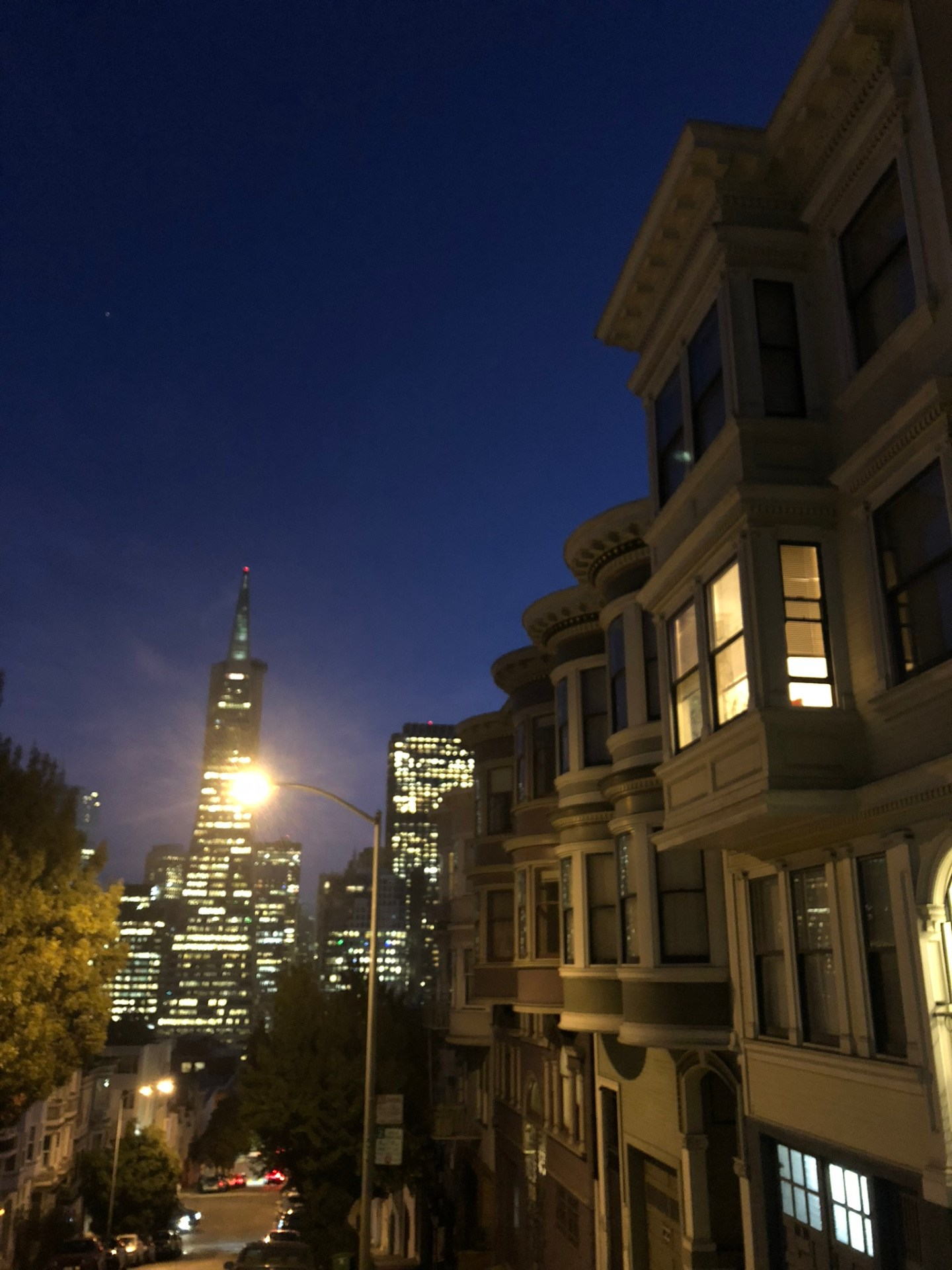 Night in San Francisco