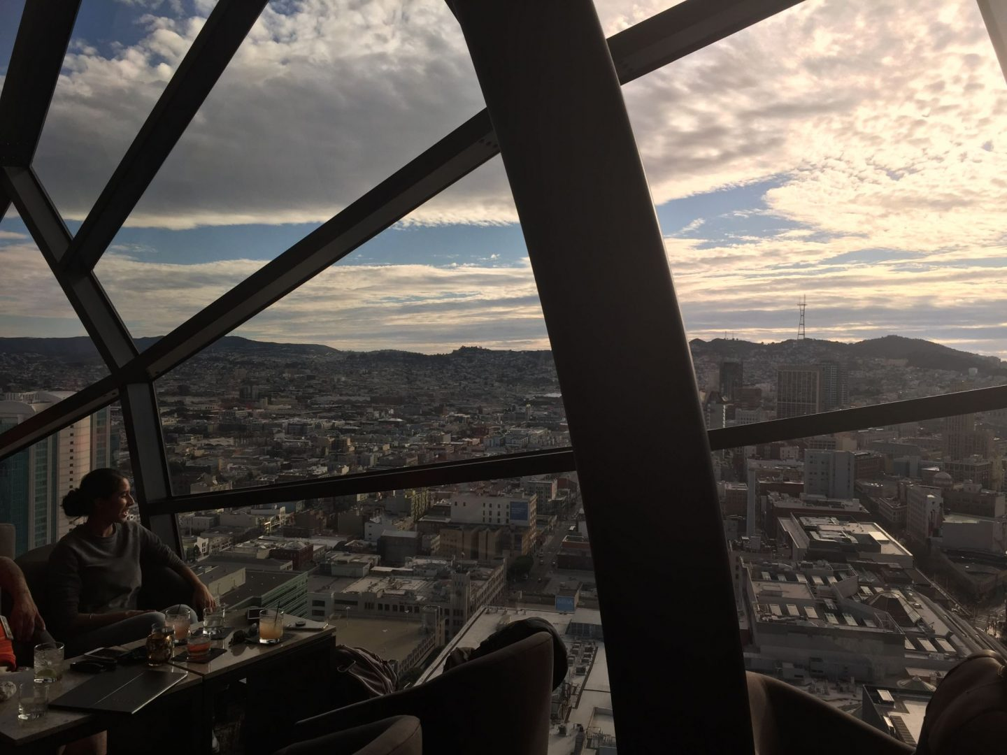 The View bar at Marriott Marquis, San Francisco