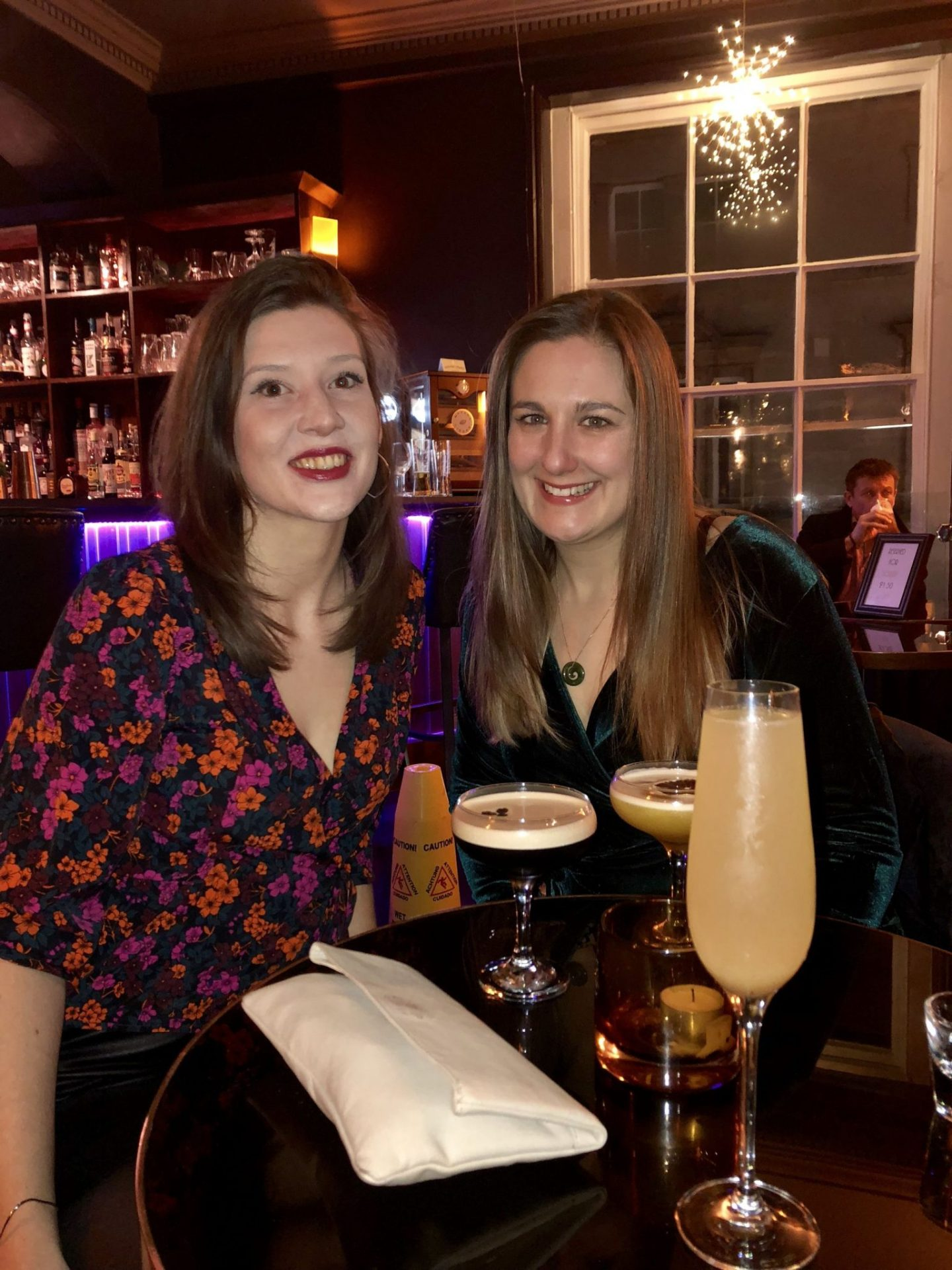 Cocktails with friends in Cheltenham, Gloucestershire