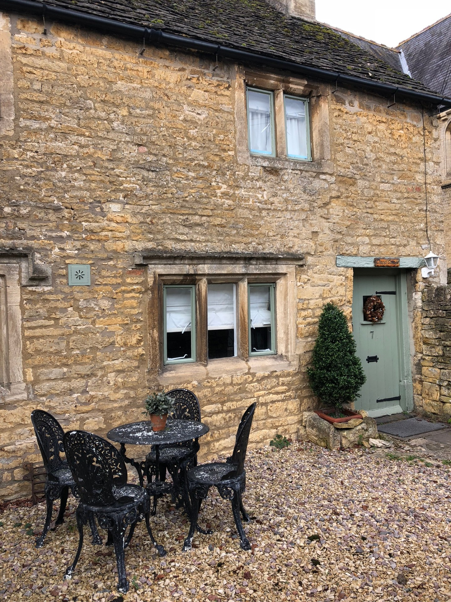 A cute house in Bourton-on-the-Water, Gloucestershire