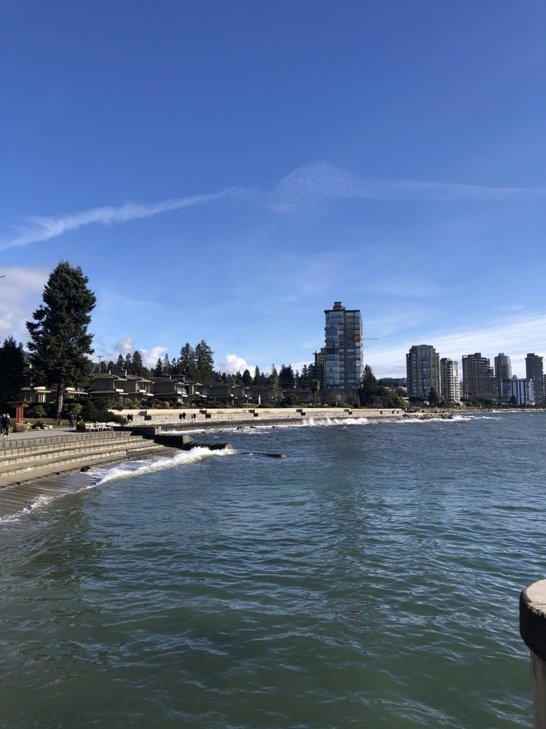 Beach at Dundarave in West Vancouver