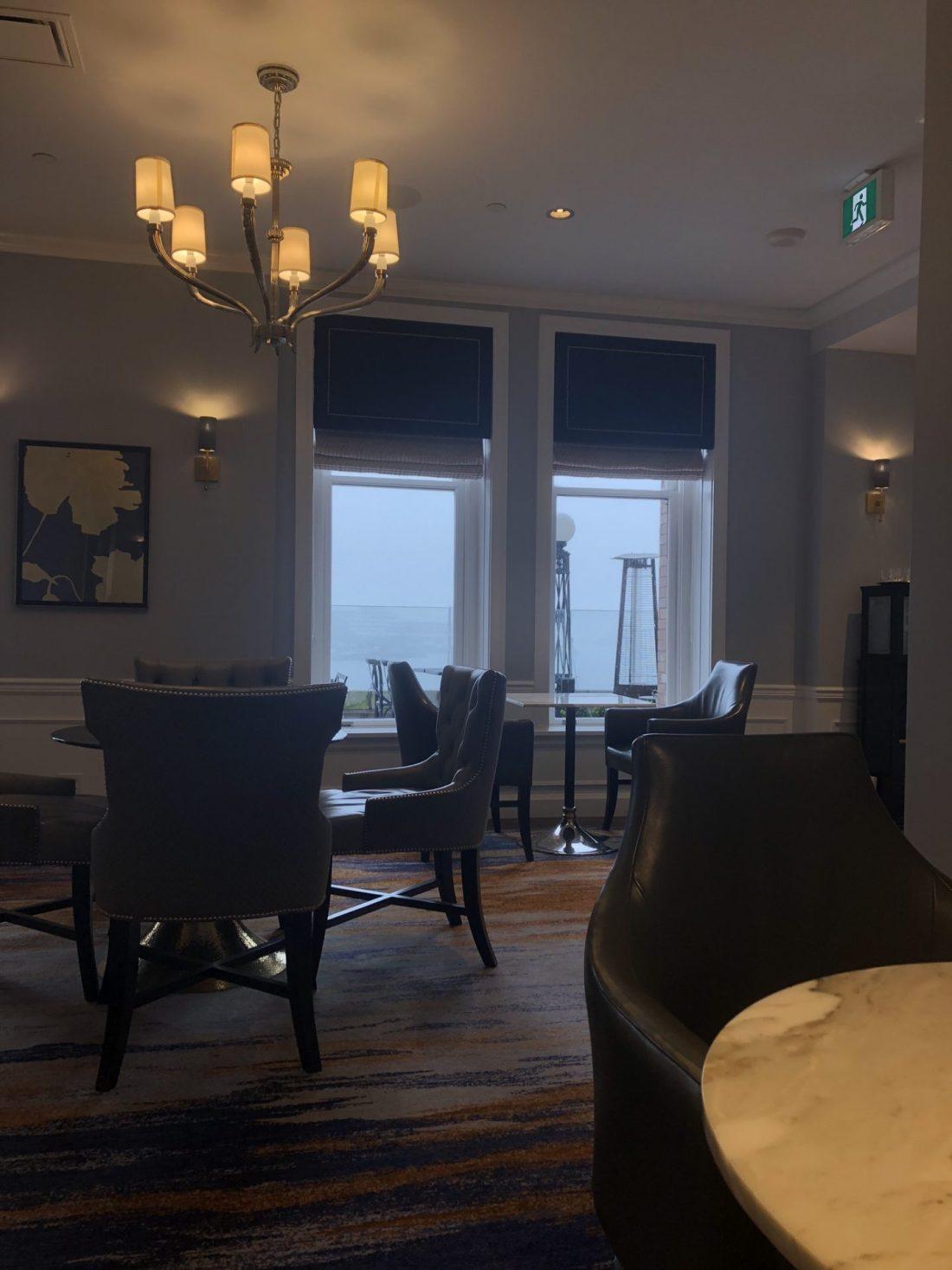 The Fairmont Gold Lounge in Victoria, British Columbia