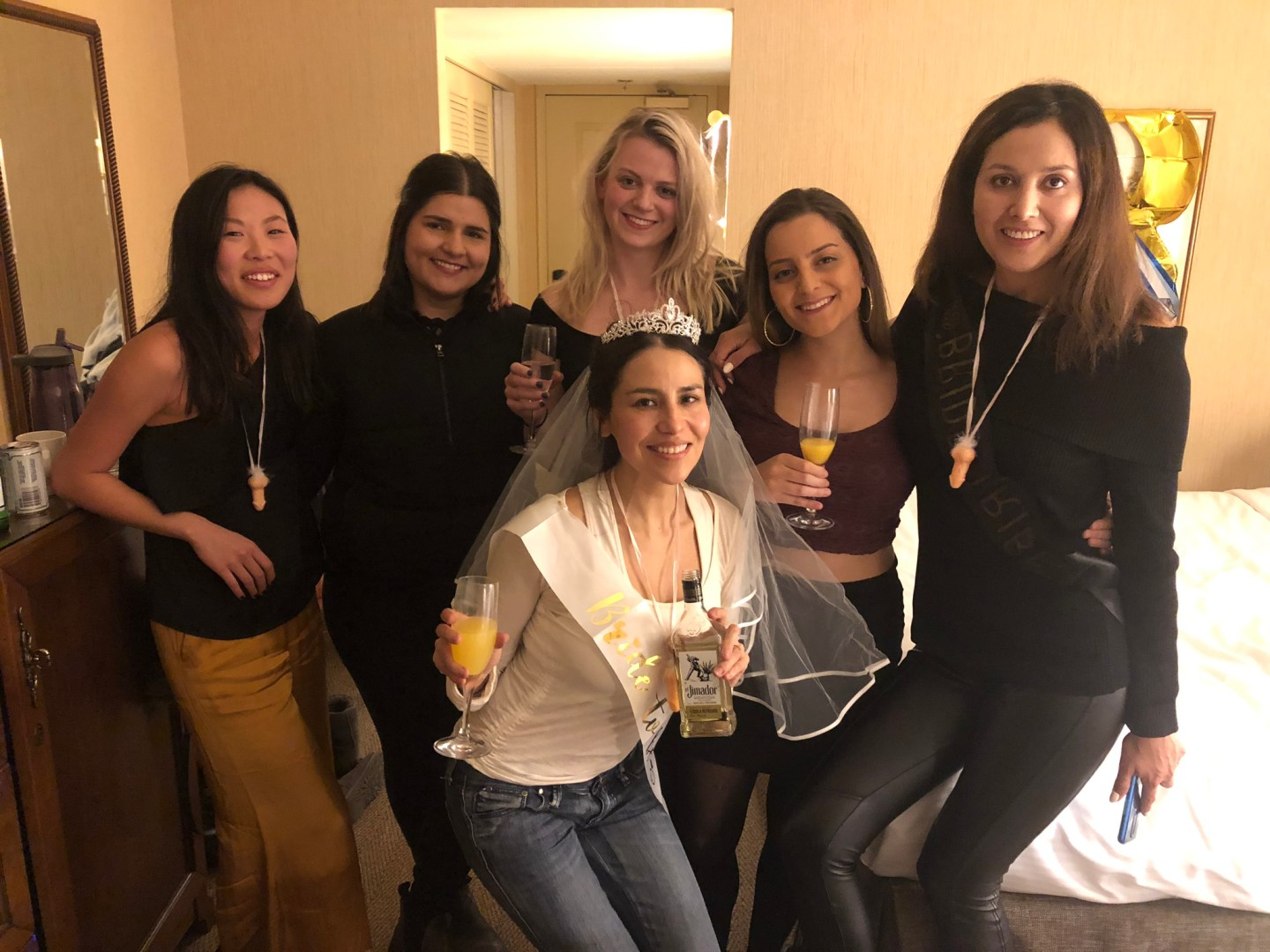 Bachelorette party in Whistler, British Columbia