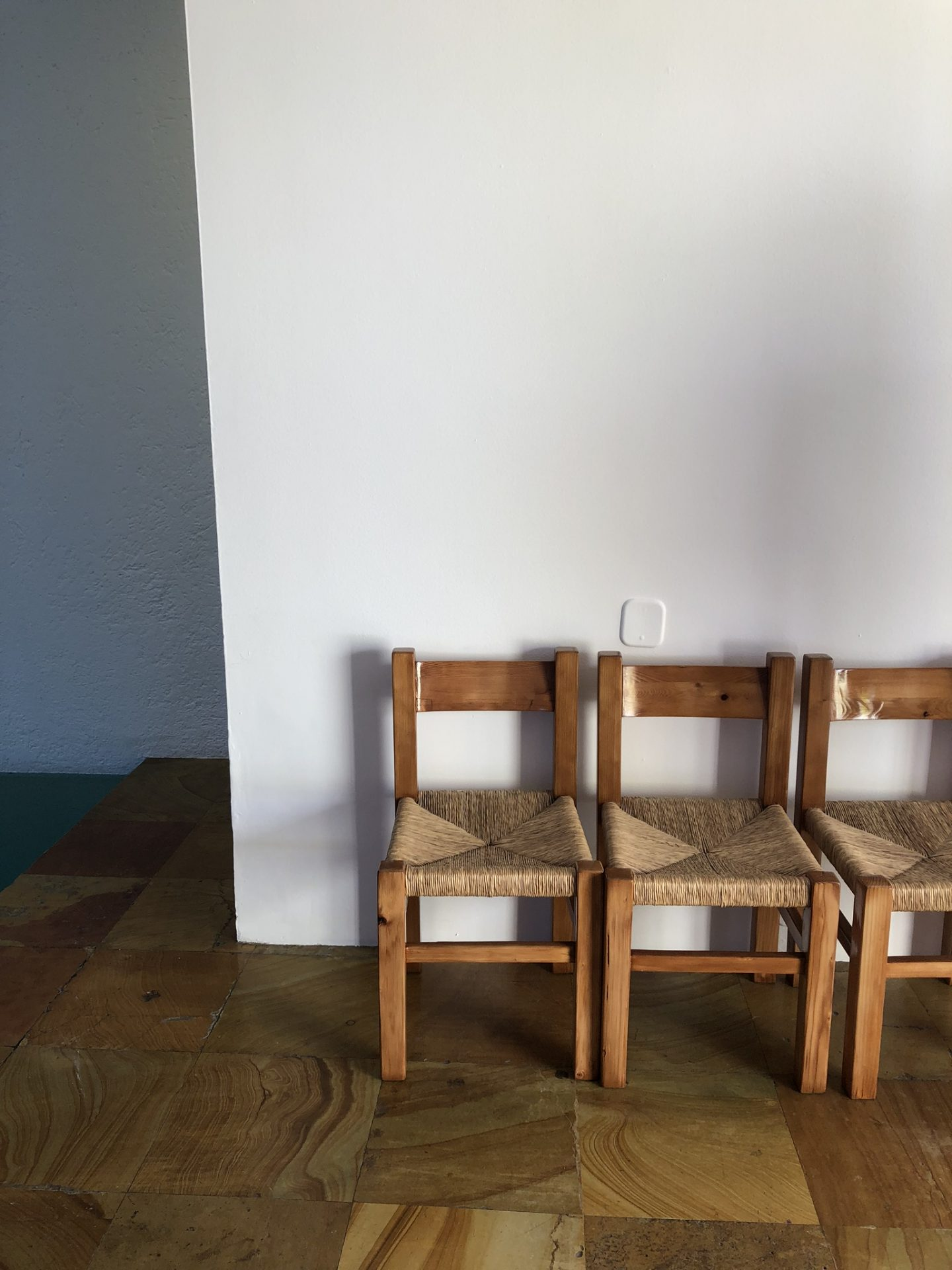 Chairs in the house, Mexico City