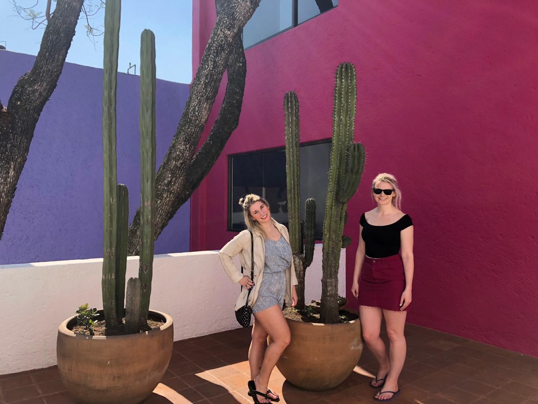 Girls at Casa Gilardi