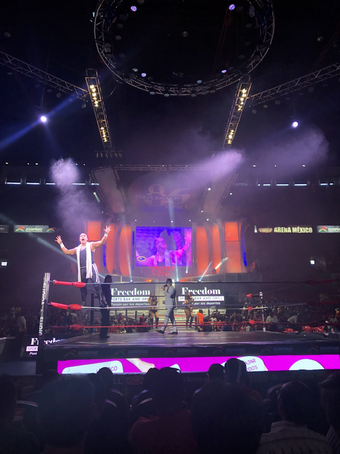 Lucha libre, Mexico City