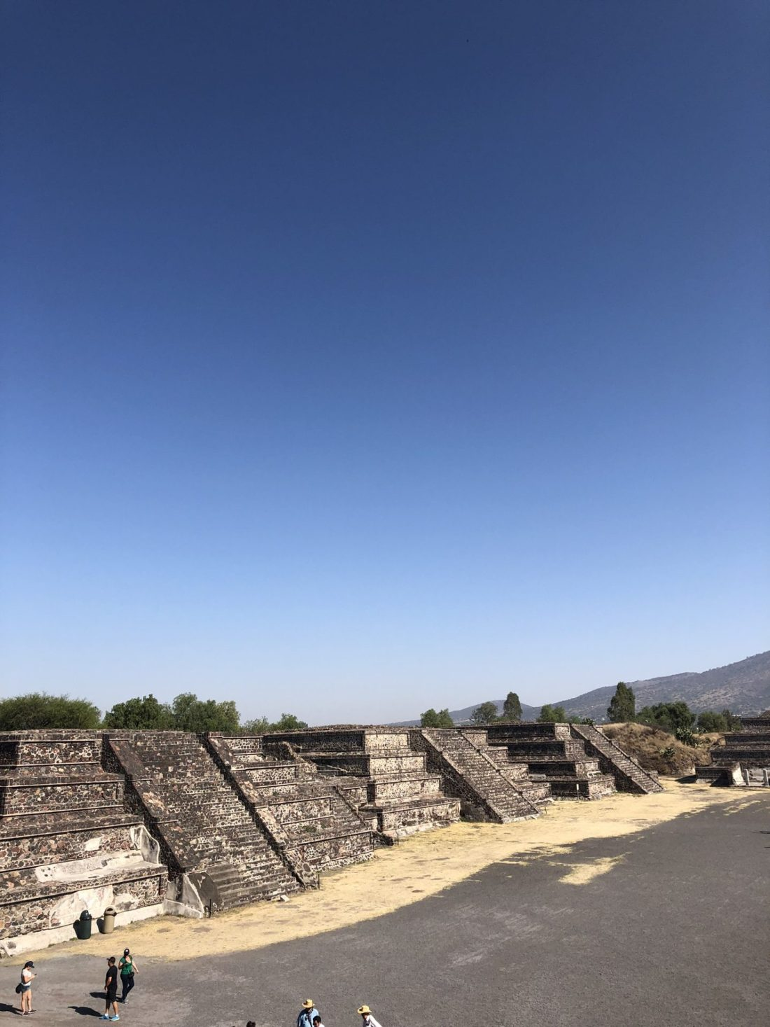 Mayan ruins at Teotihuacan, Mexico