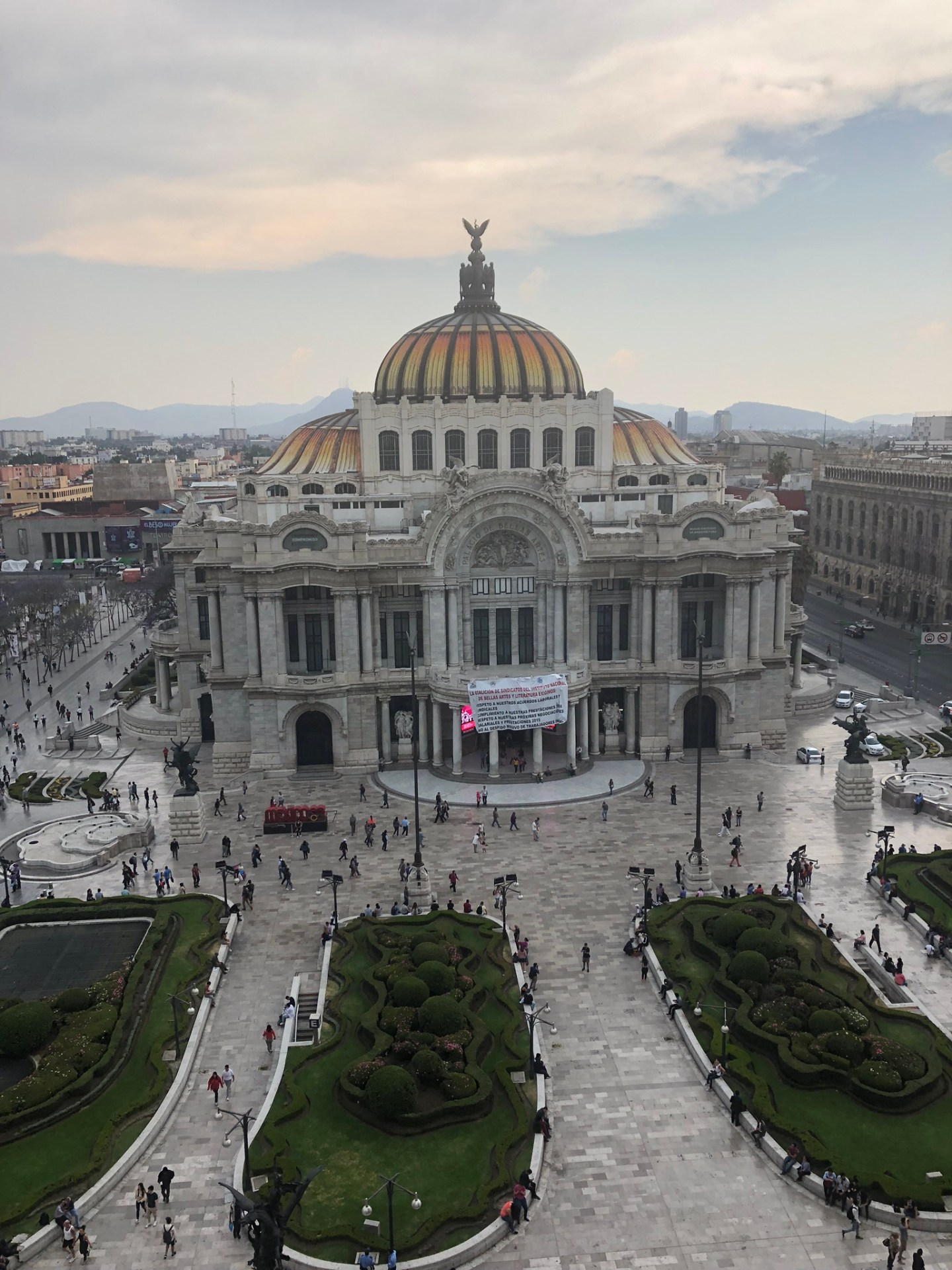 The Historic Center of Mexico City