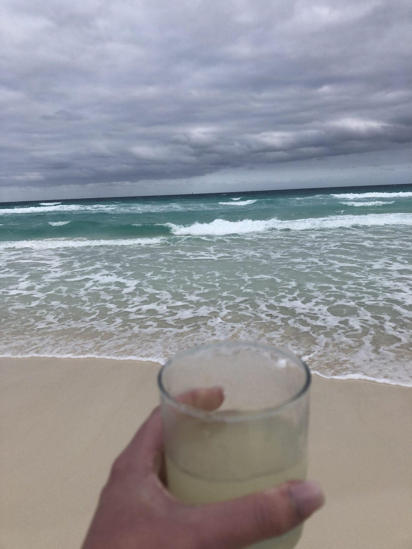 Margarita on the beach, Cancun