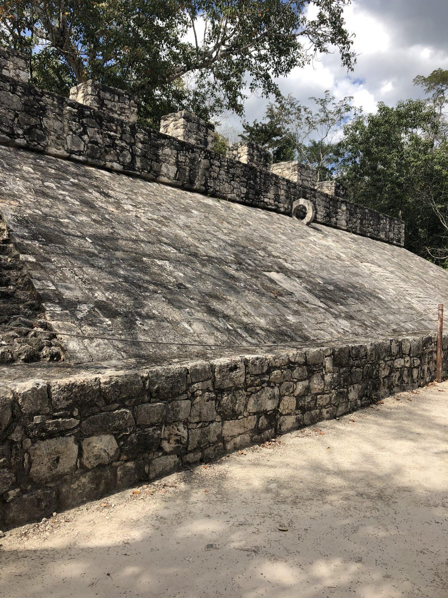 Mayan ruins in Coba, Mexico