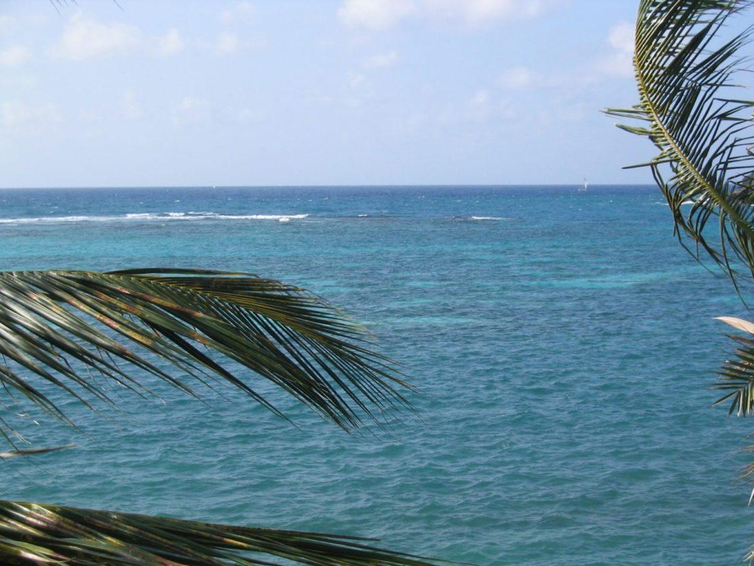Antigua's Caribbean Sea
