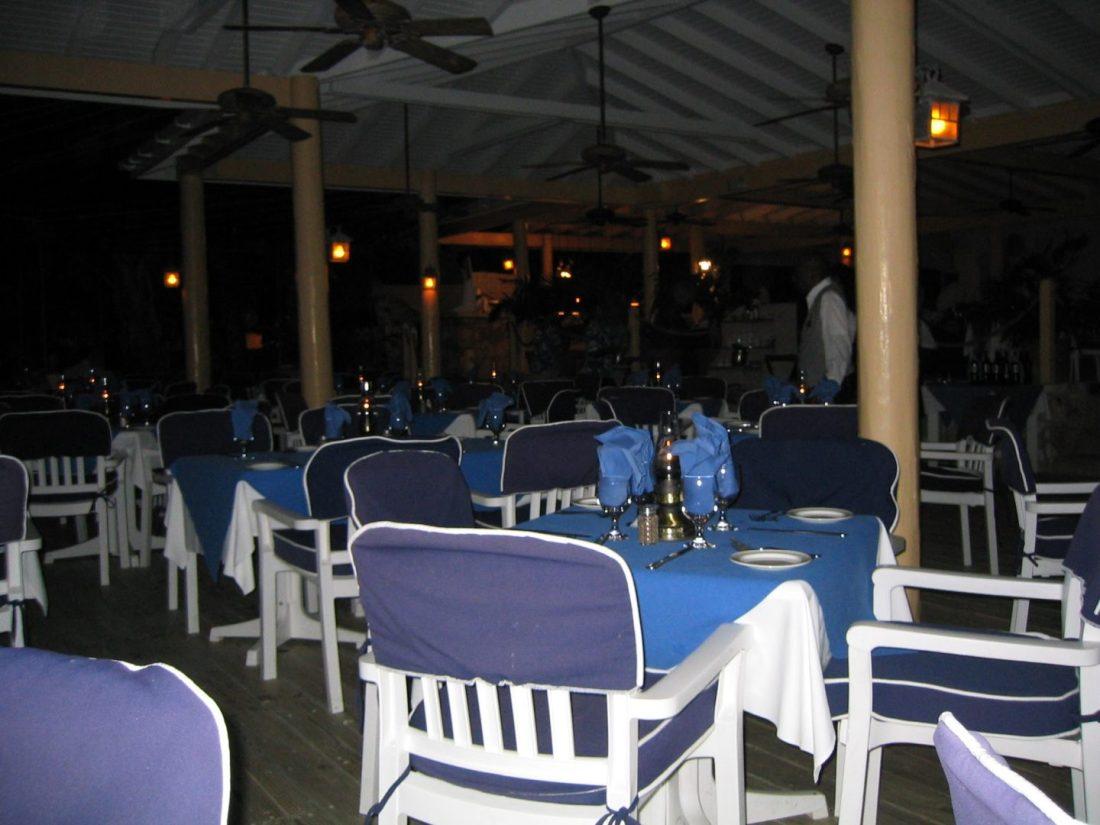 Docksider restaurant, St James's Club