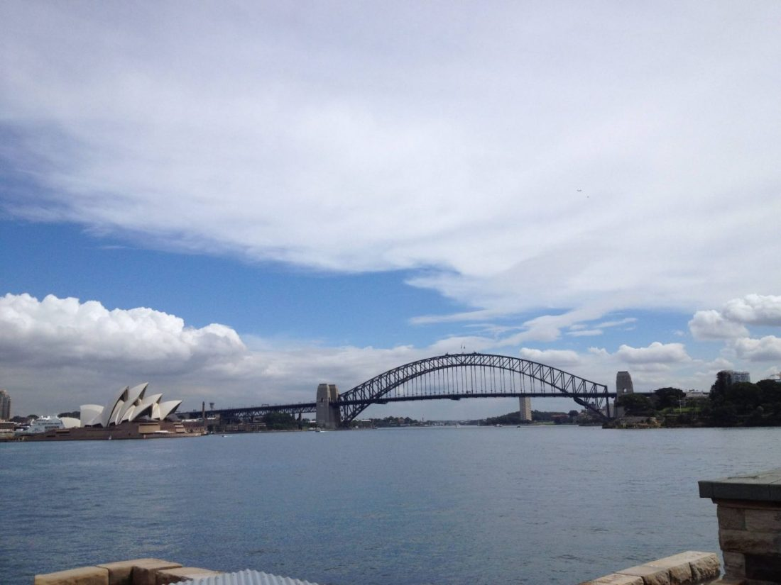 Sydney Harbour from Fort Denison