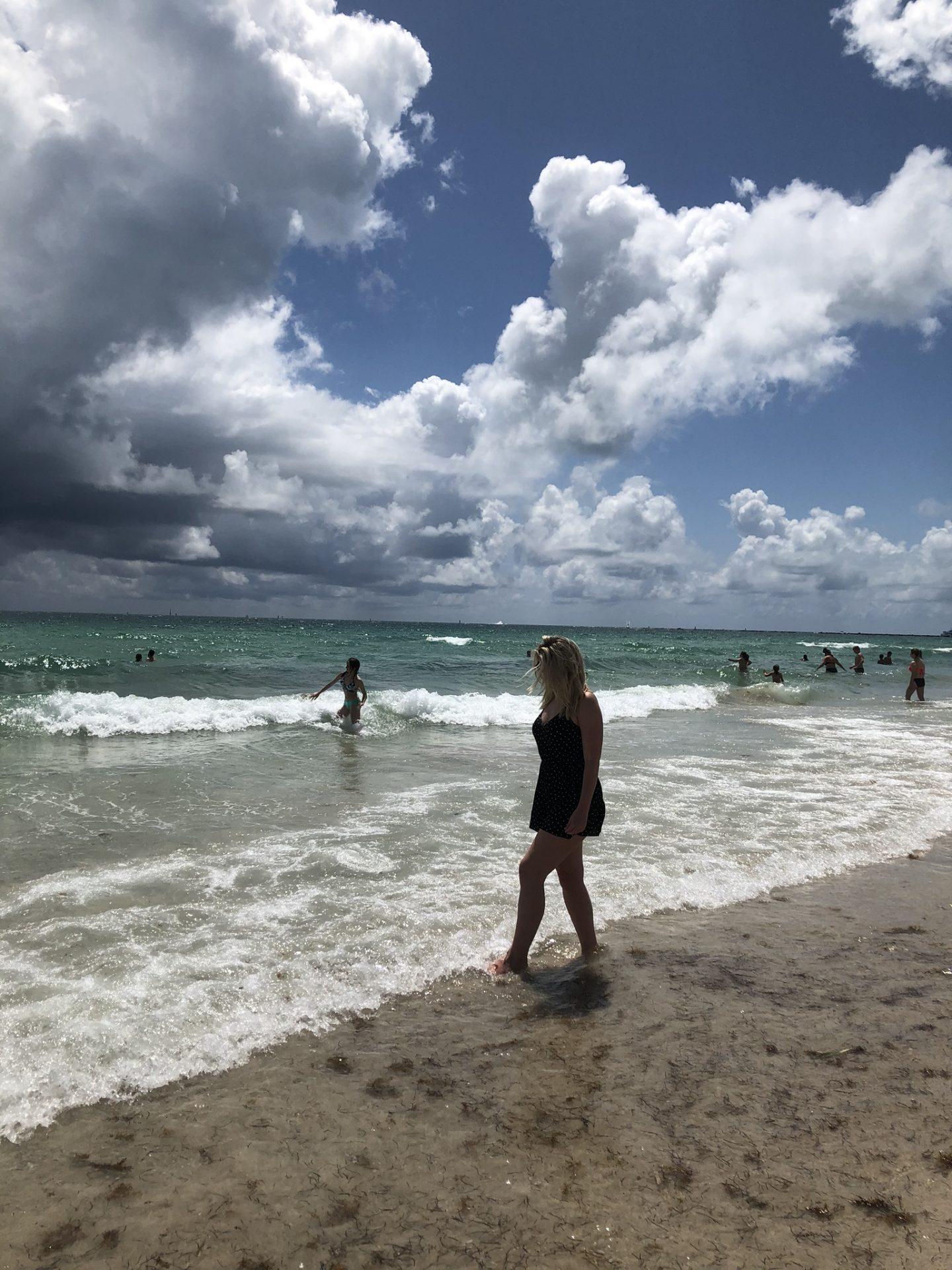 Laura on South Beach, Florida