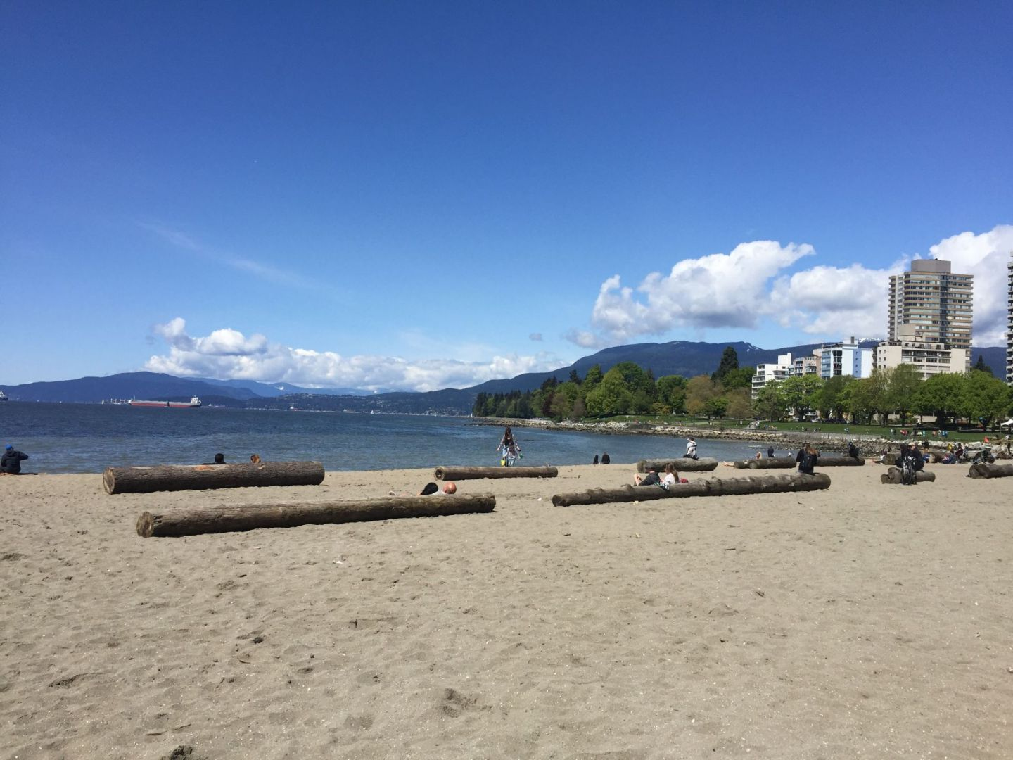 Best beaches in Vancouver: English Bay