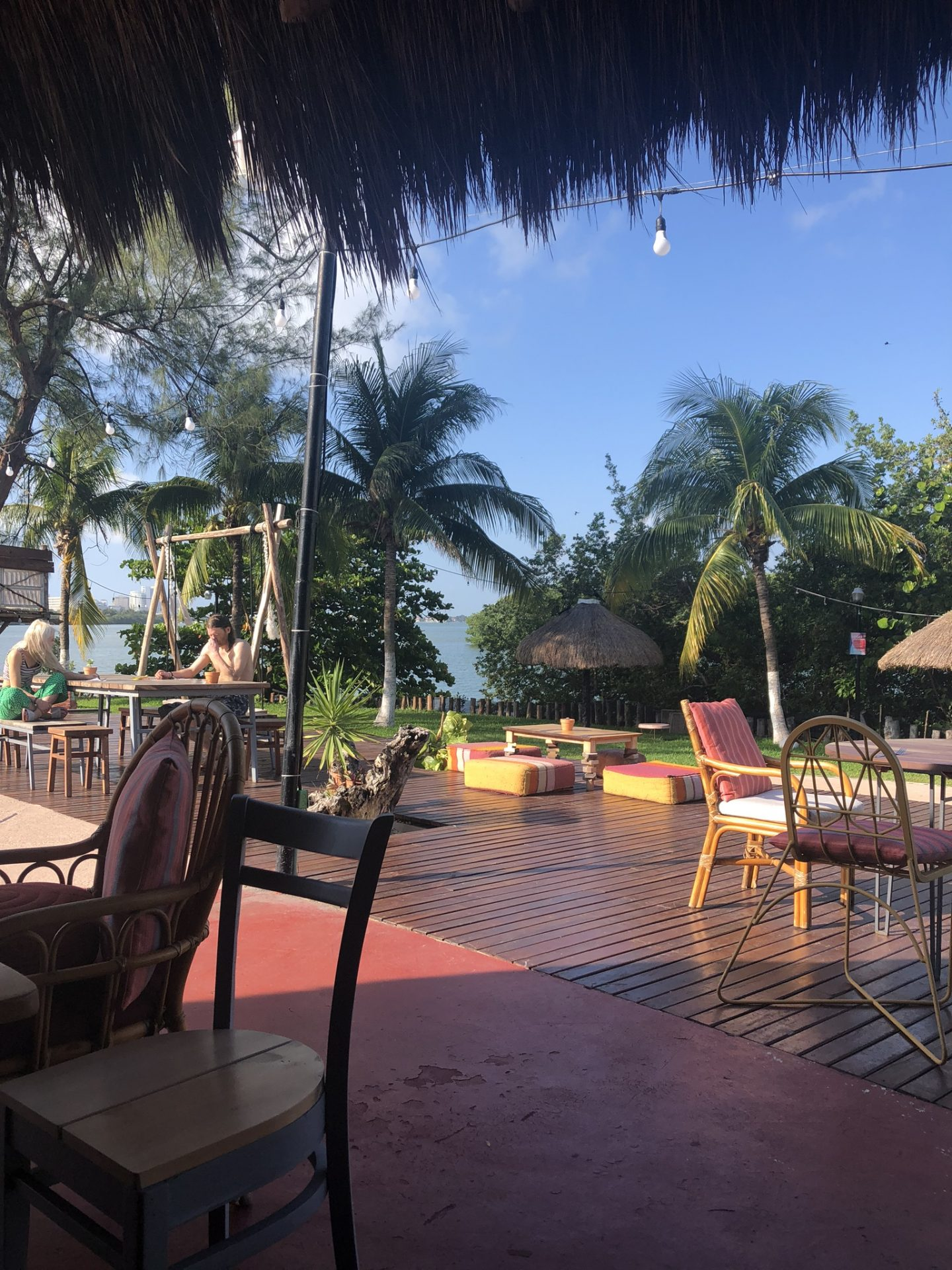 Breakfast at Selina, Cancun in Mexico
