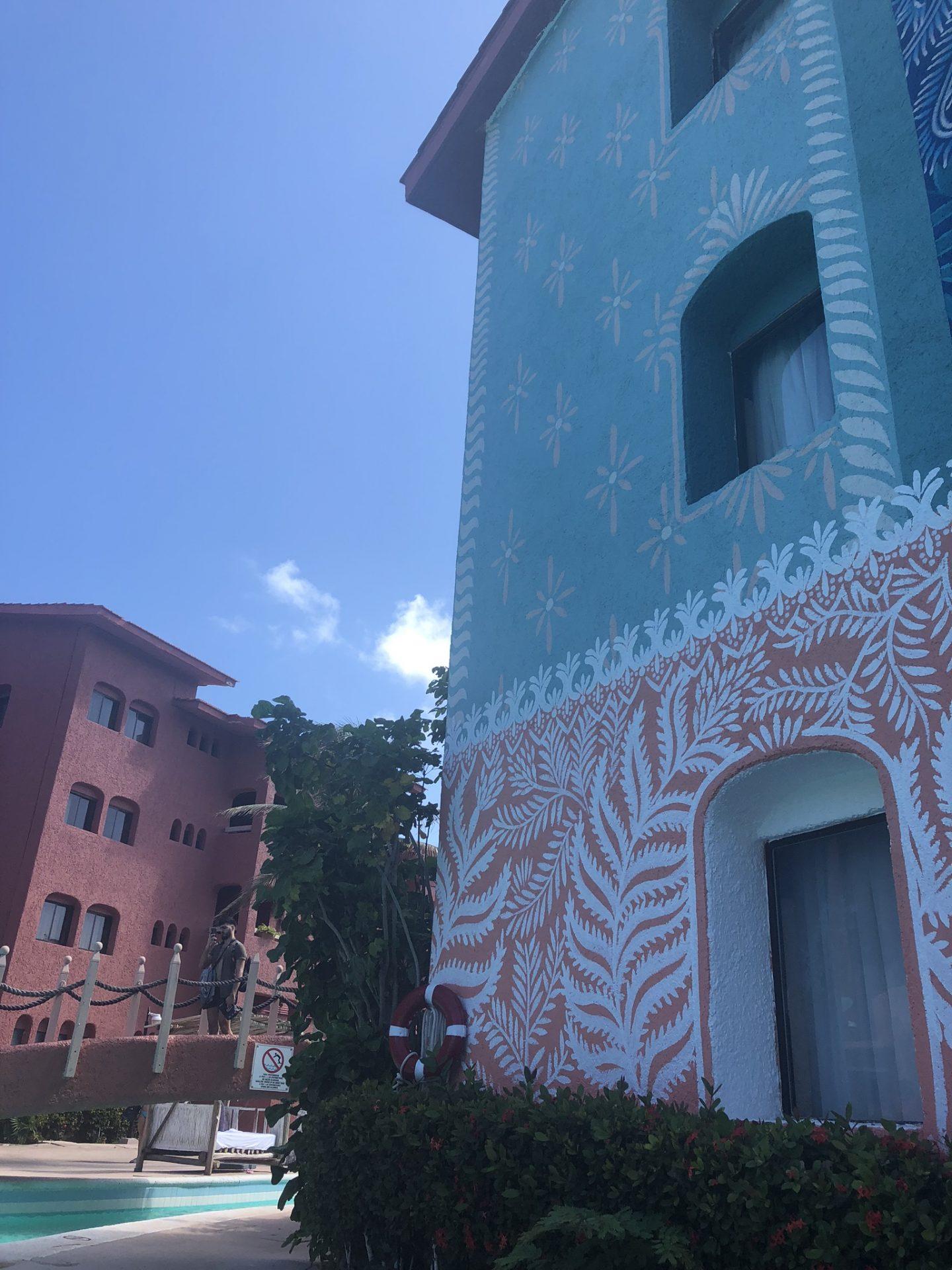 Decor of Selina in Cancun, Hotel Zone
