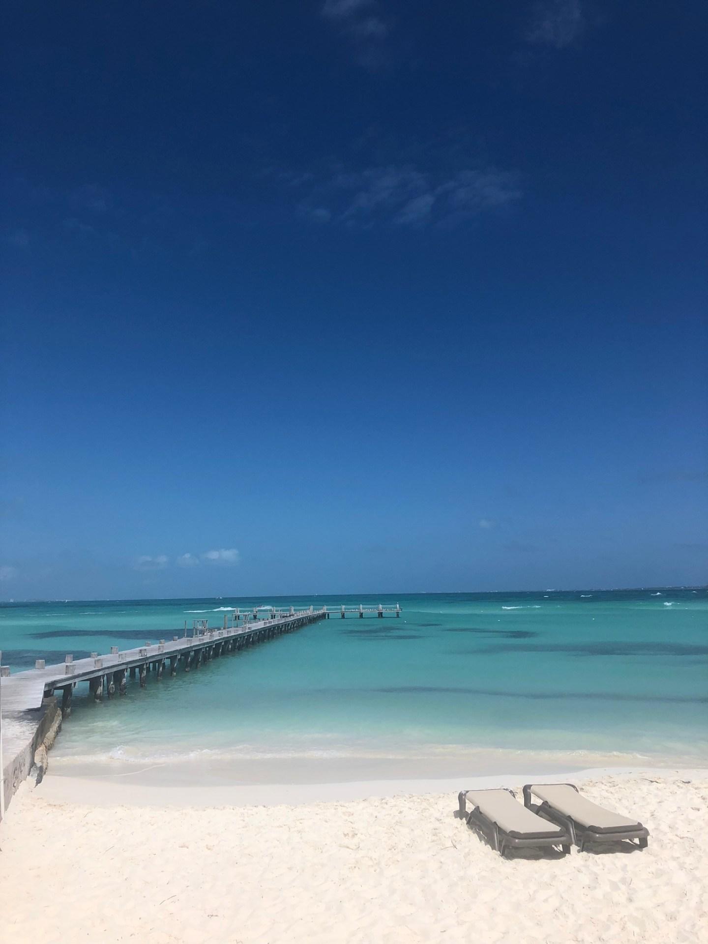 Cancun beach, Mexico at Hotel Ziva