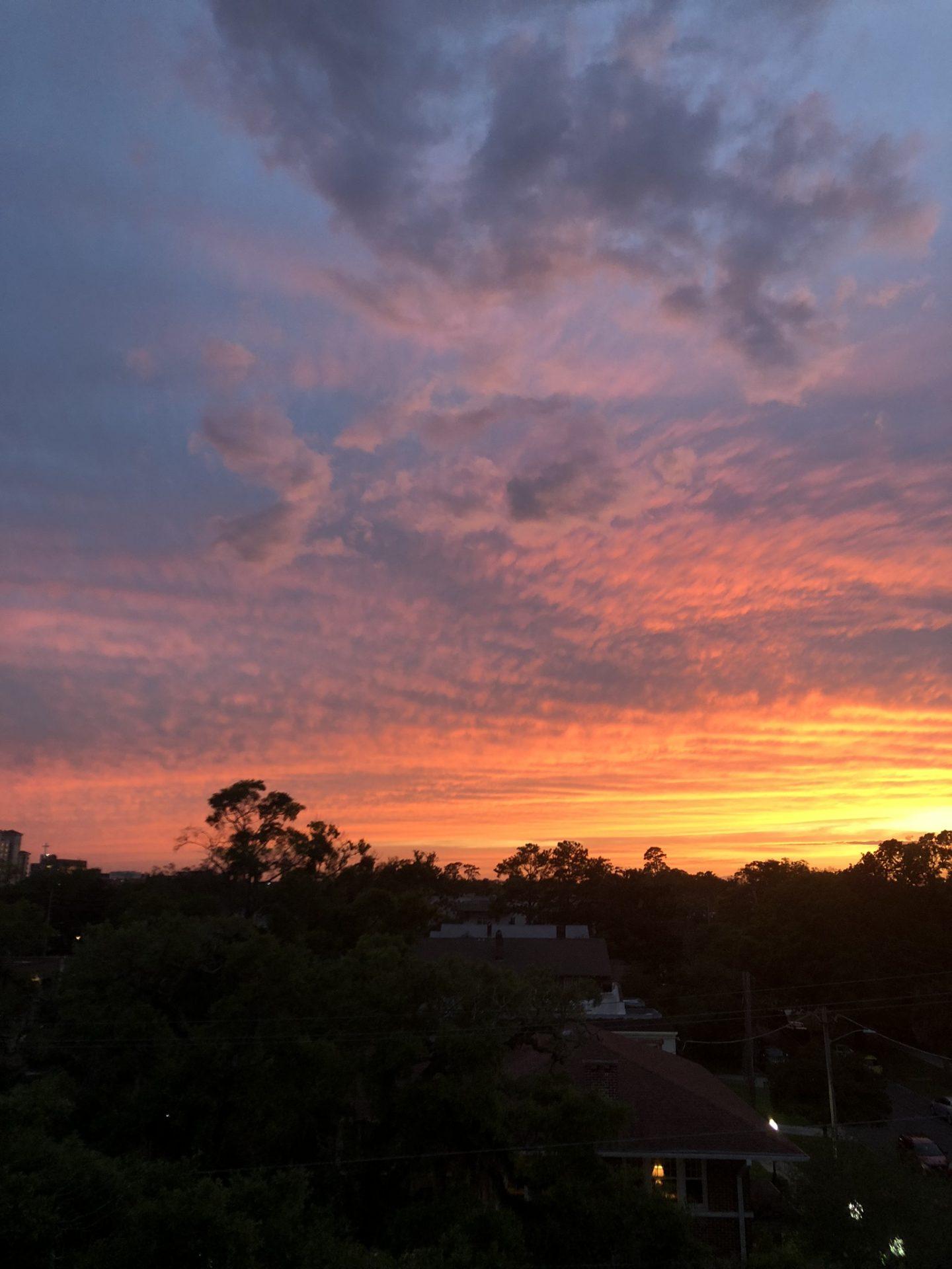 Sunset in Jacksonville, Florida
