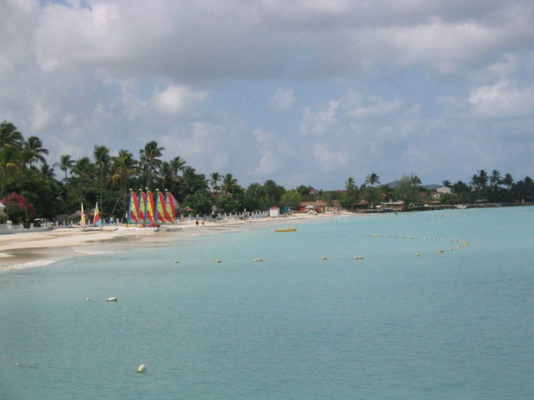 Yachts at St James's Club, Antigua