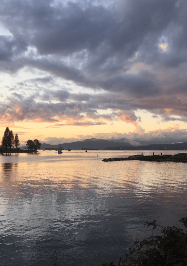 What to do in Vancouver: see the sunset from English Bay