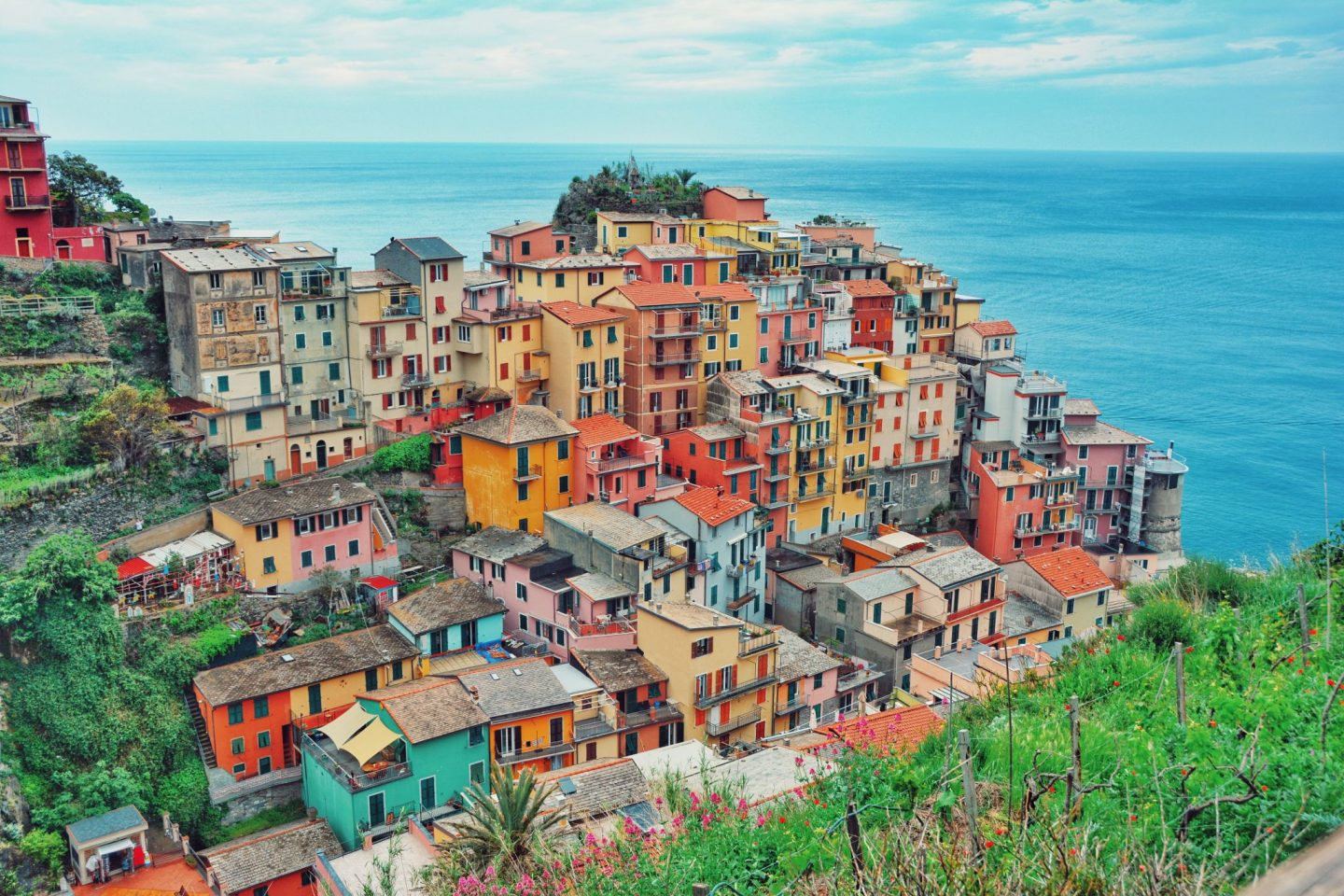 Cinque Terre, Italy is one of the world's most colourful cities
