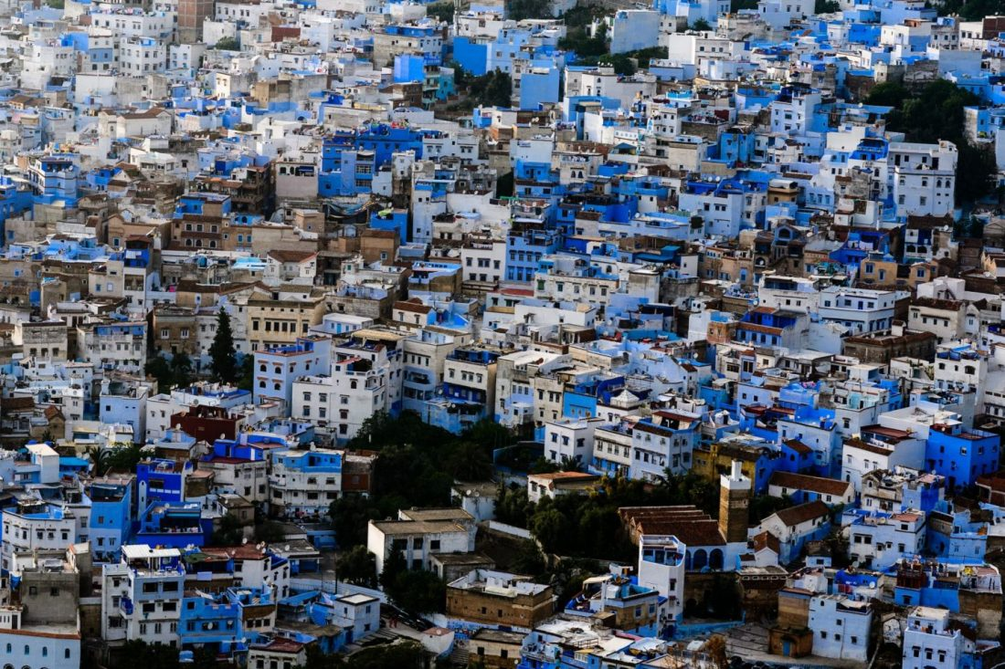 Chefchaouen, Morocco is one of the world's most colourful cities