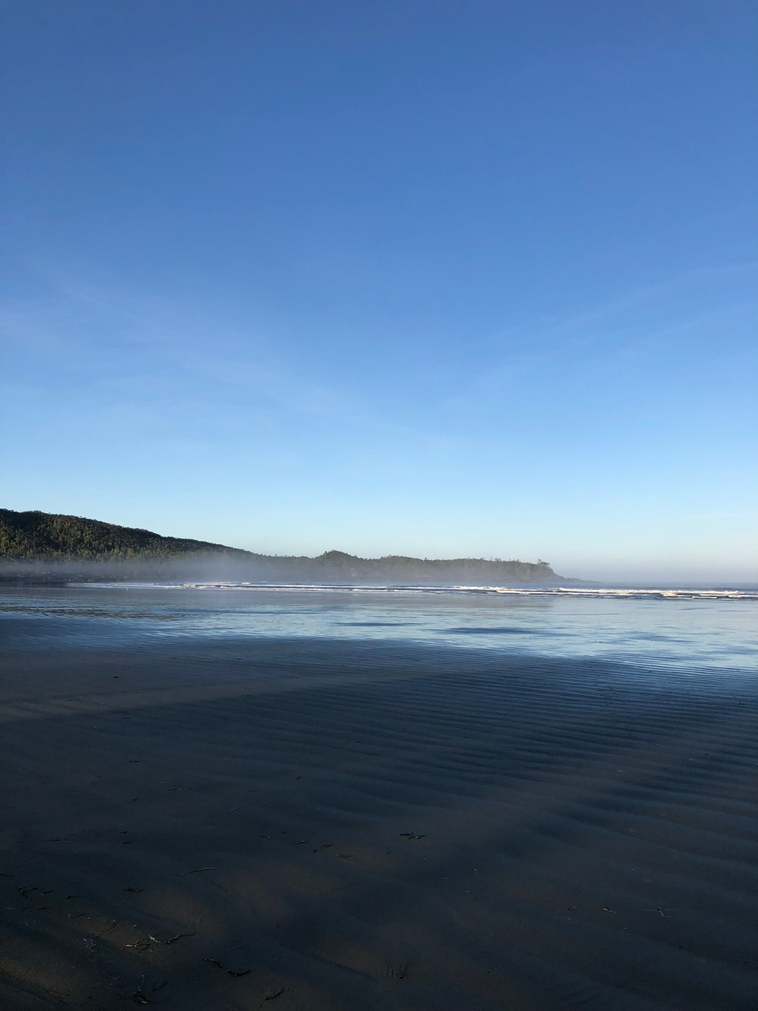 Morning surf in Tofino, Vancouver Island