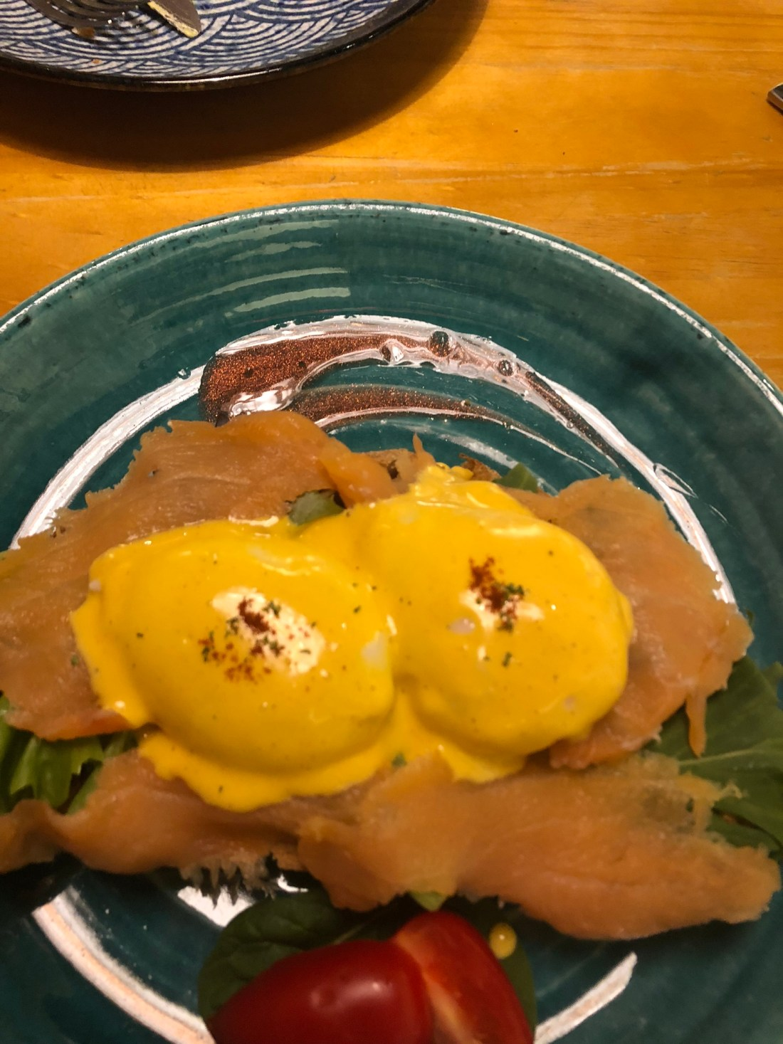 Eggs benedict from Black Sugar Coffee and Lifestyle, Kowloon