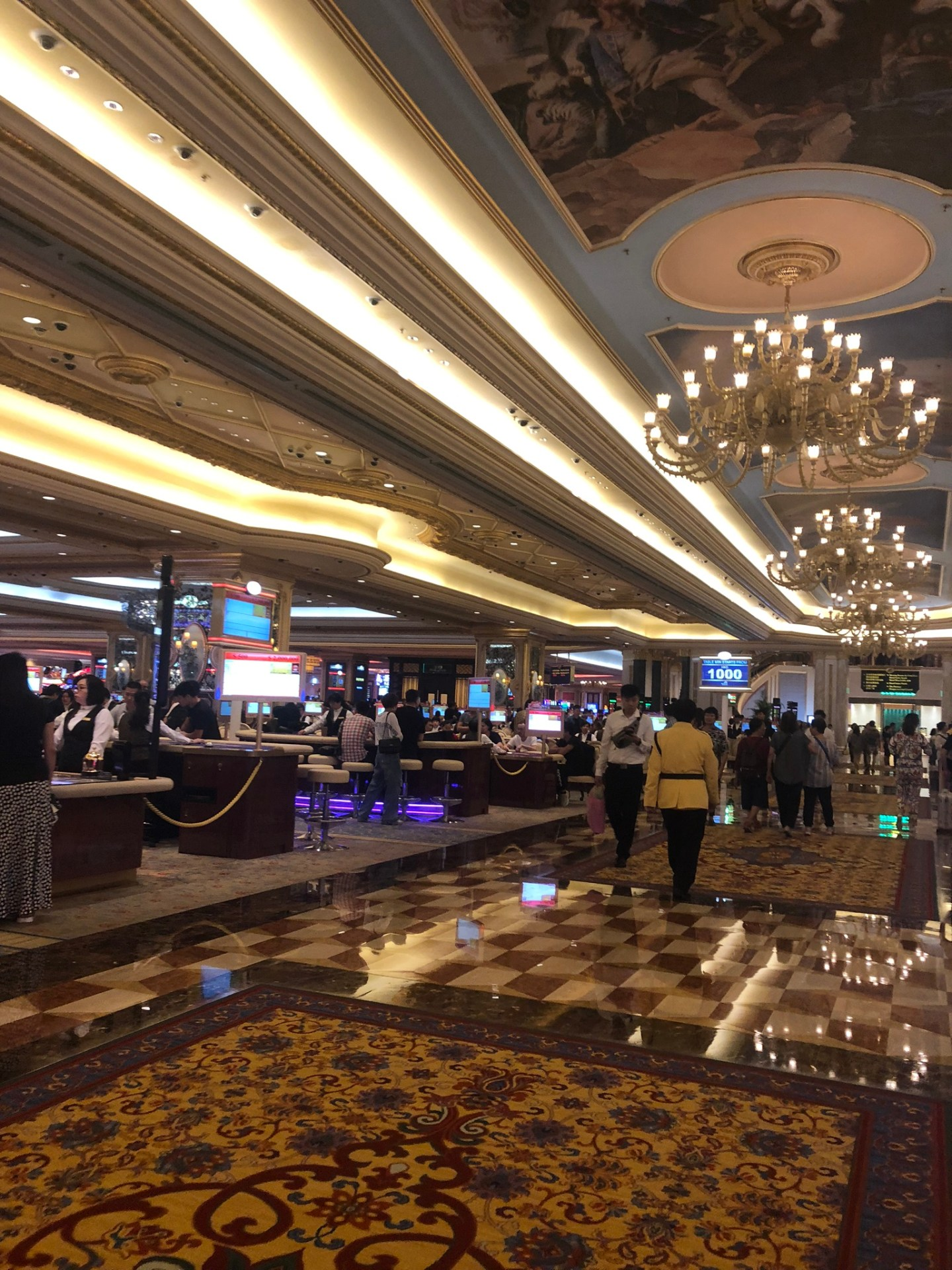 The Venetian, Macau casino on the Cotai Strip
