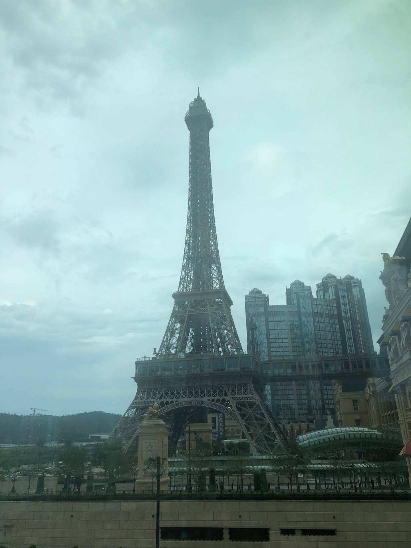 Eiffel Tower of the Parisian Macau on the Cotai Strip