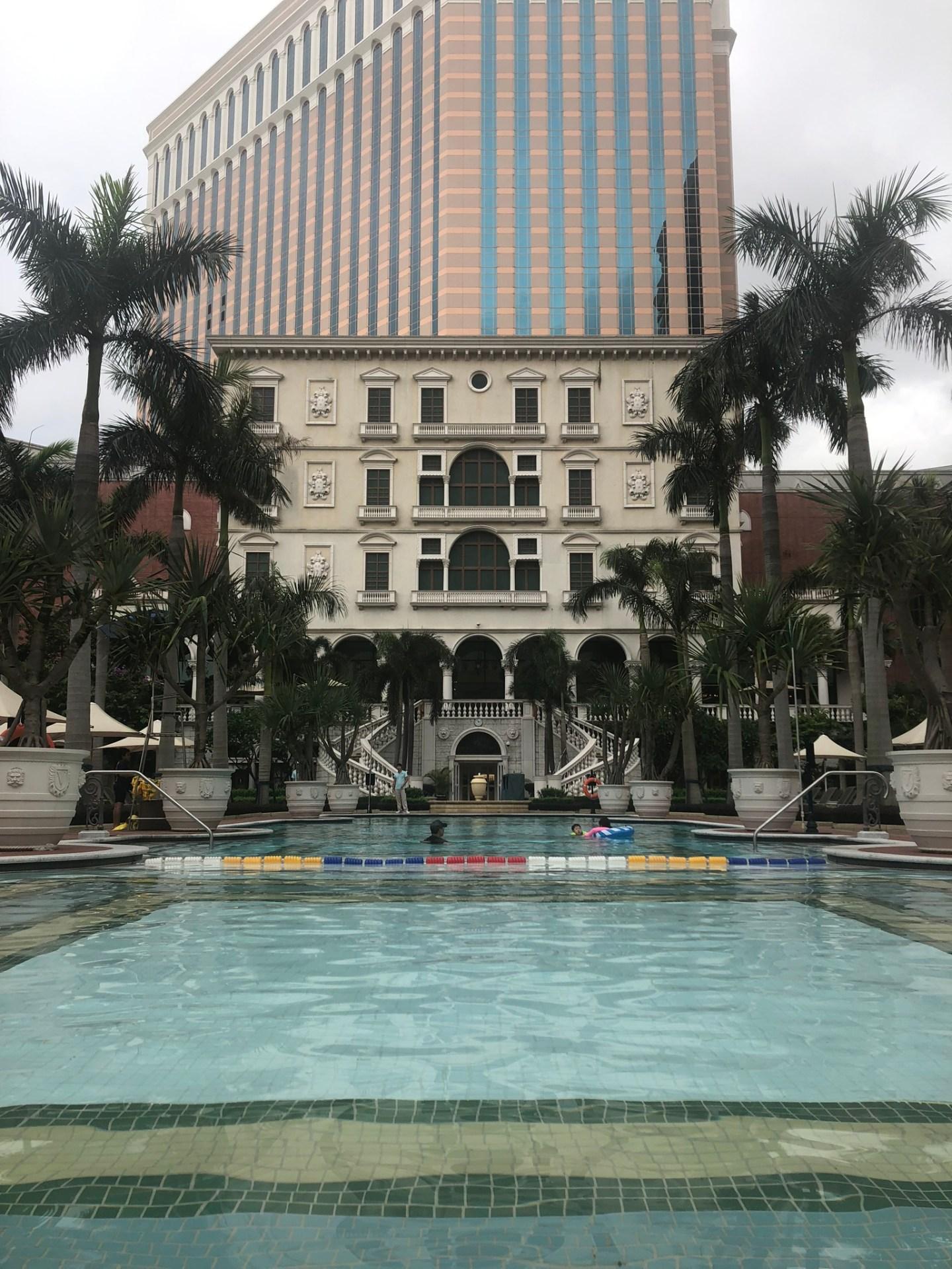 Pool at the Venetian Macau