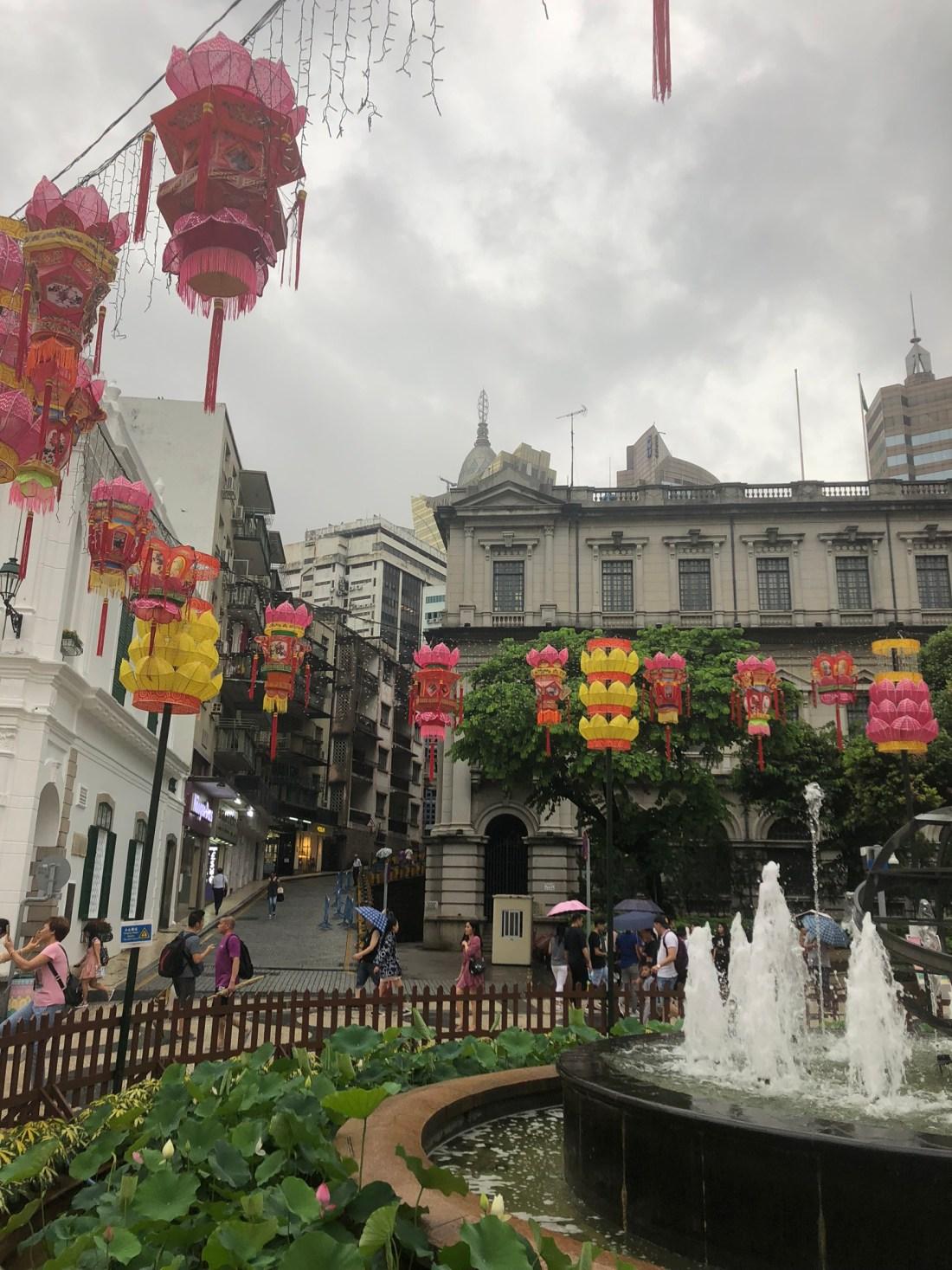 Lanterns of Senado Square, Macau