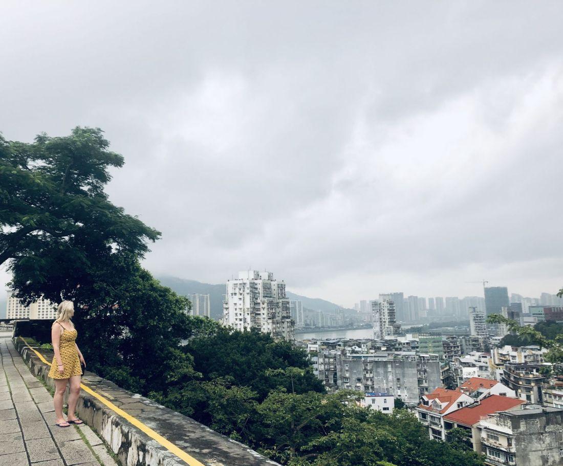 Looking over Macau, China