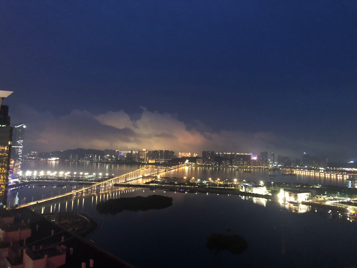 Skyline views of Macau