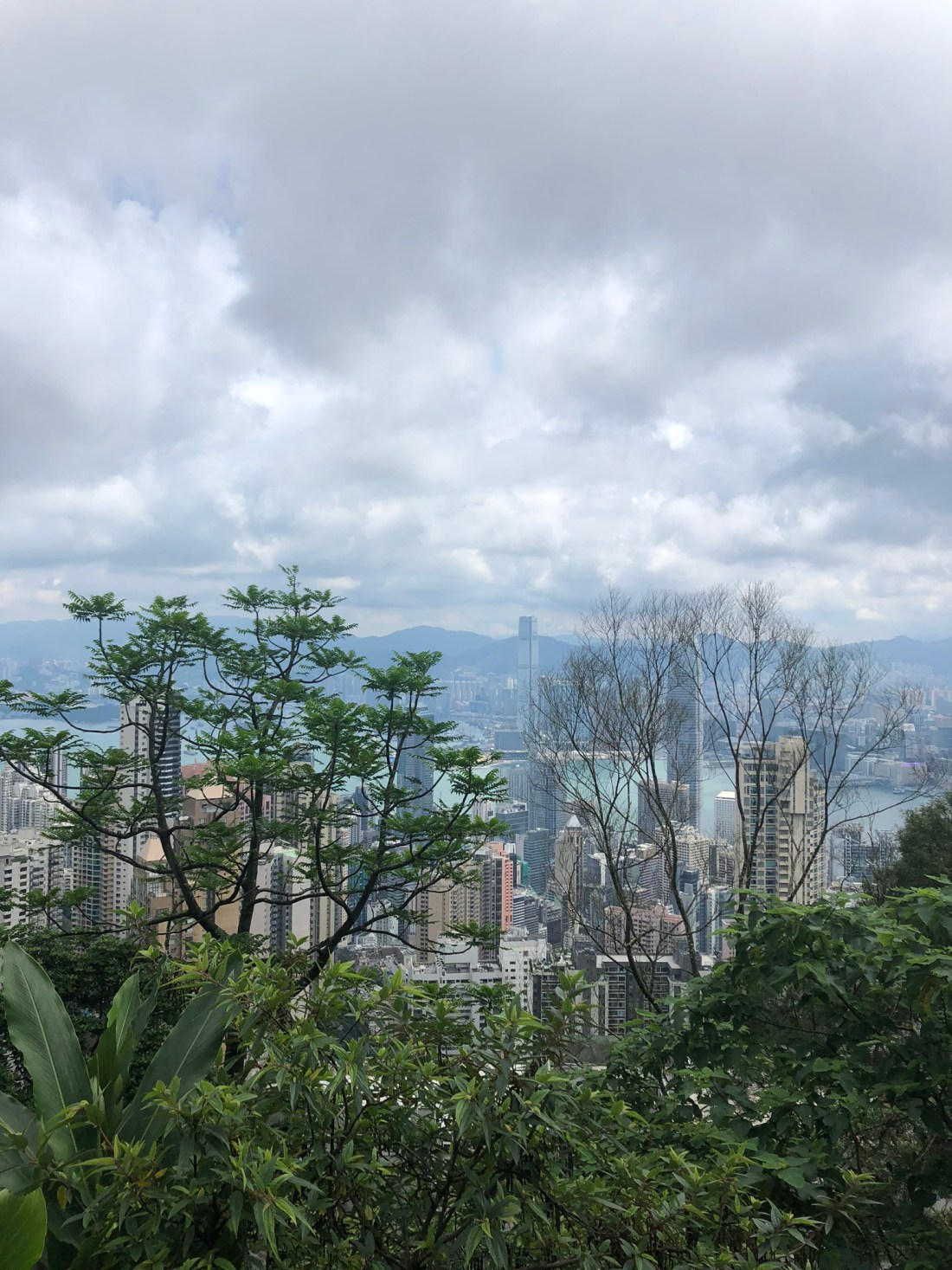 Views from Victoria Peak, Hong Kong